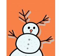 DTP Счастливого рождества- снеговик (a2009)