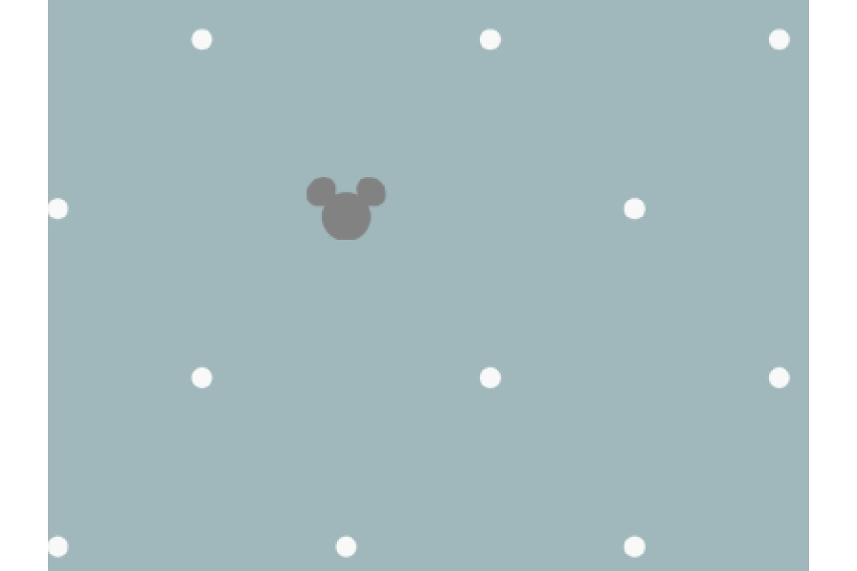 100% хлопок сатин Dot Mickey (DX0003, DX0004)
