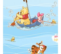 100% Rayon SWIMMING POOH DX0905