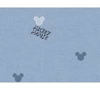 100% хлопок сатин Denim Mickey (DX0009)