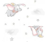 Трехслойный хлопок Flying Dumbo DX0906 white