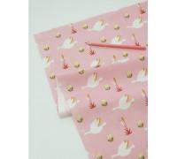 (3260) DTP Нильс и гуси (розовый)