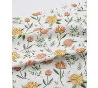 (3262) DTP Бумажный цветок (оранжевый)