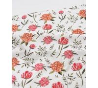 (3263) DTP Бумажный цветок (коралл)