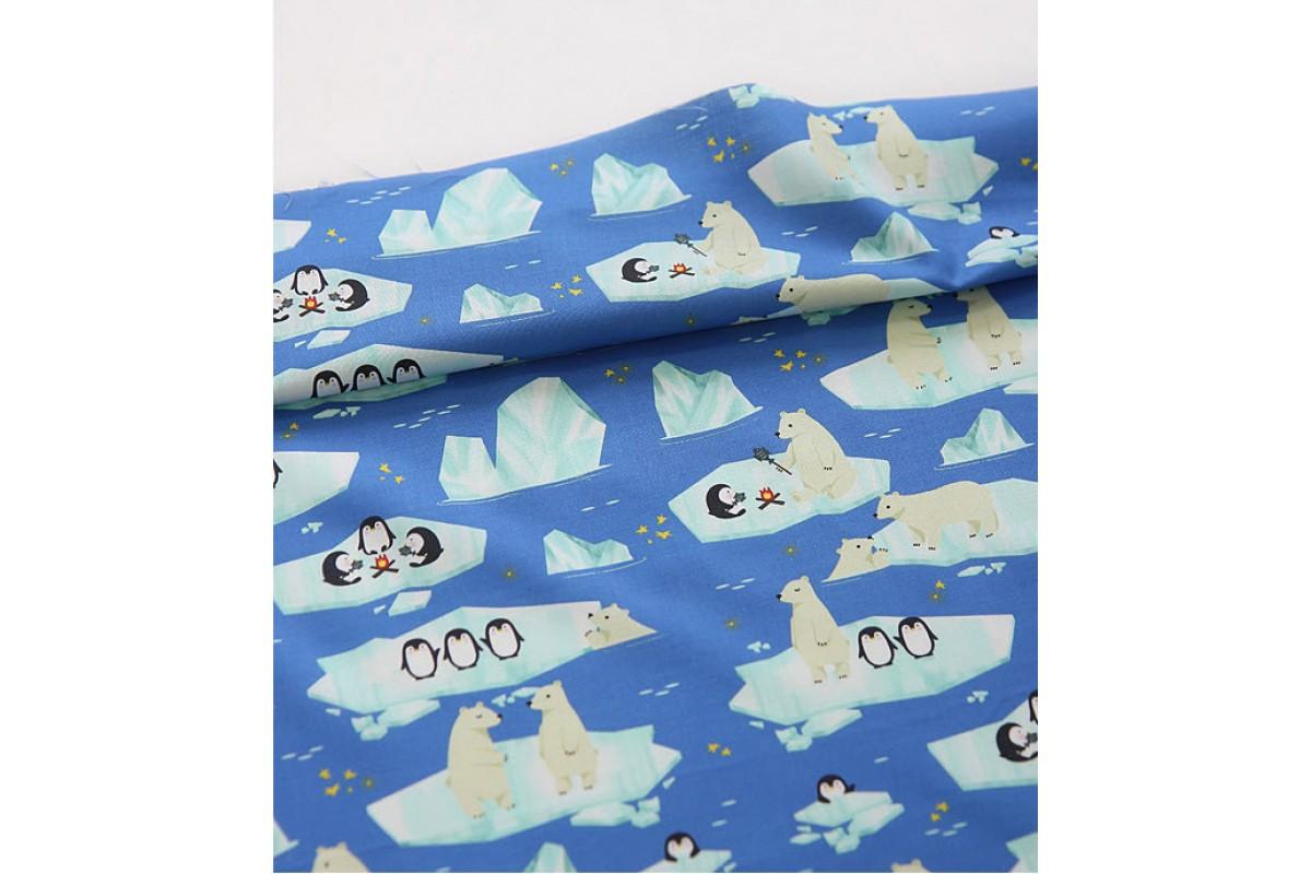 (3210) DTP Белый медведь и пингвин