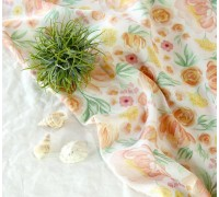 (4219) DTP Вискоза Цветы