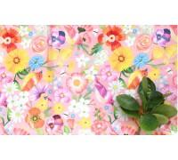 (4480) DTP летний луг на розовом  (YS1464)