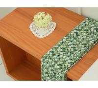 (P0000GSR) DTP зеленые цветы (YS1465)