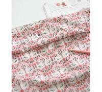 (3304) DTP Цветы (розовый)