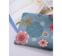(1440) Цветы (синий) R1380