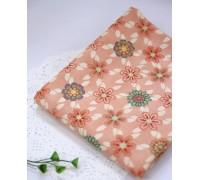 (1442) Цветы (розовый) R1379
