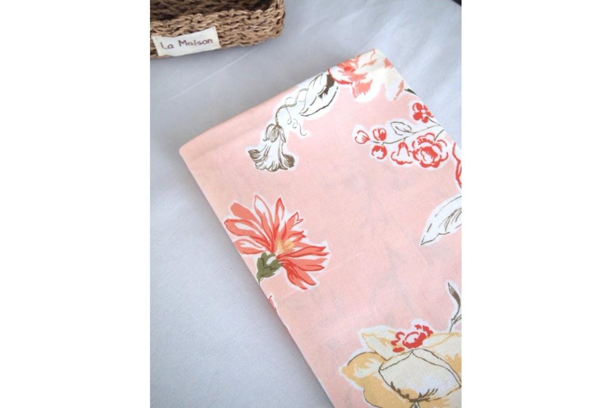 (1826) Весенний цветок (розовый)