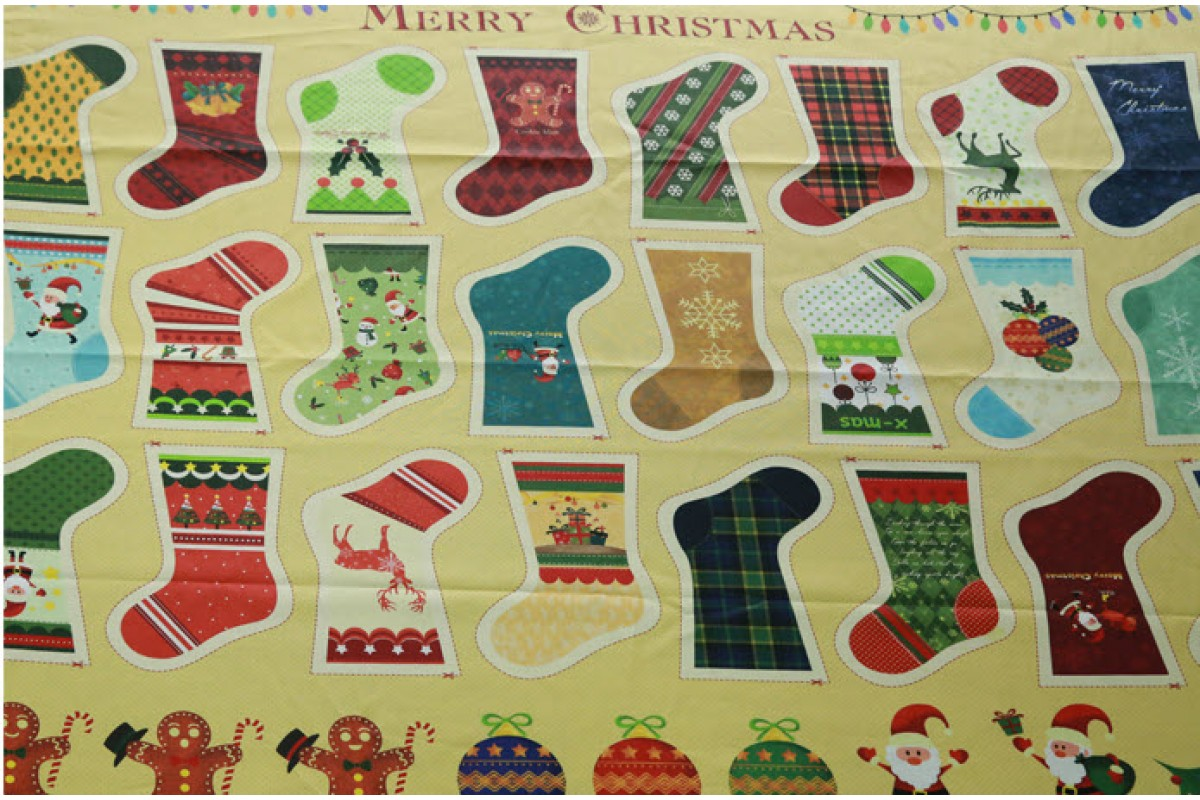 (2633) DTP Рождественские носки YS1010