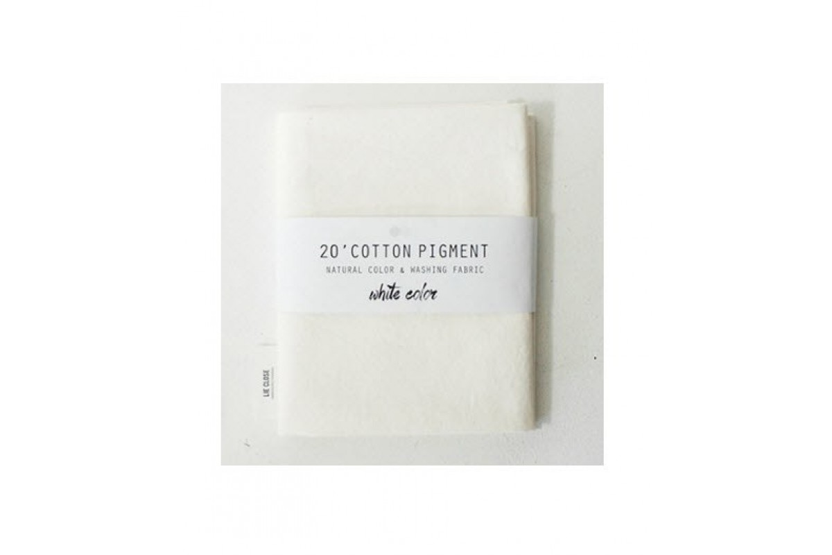 (2995) 20 ' Cotton Pigment Natural Color &washing Fabric:#01 слоновая кость