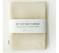 (2996) 20 ' Cotton Pigment Natural Color &washing Fabric:#02 светло-бежевый