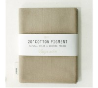 (2998) 20 ' Cotton Pigment Natural Color &washing Fabric:#04 бежевый