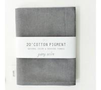 (3000) 20 ' Cotton Pigment Natural Color &washing Fabric:#06 темно-серый