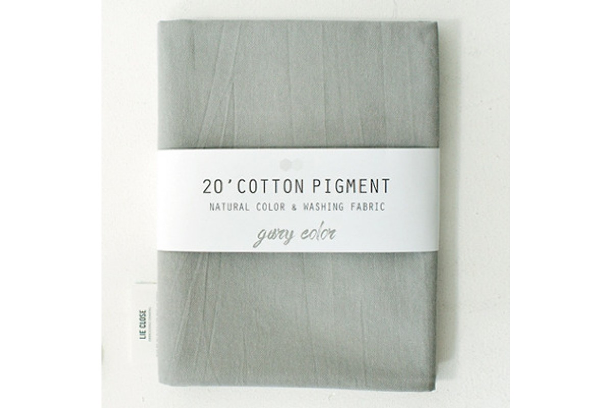 (3002) 20 ' Cotton Pigment Natural Color &washing Fabric:#08 светло-серый