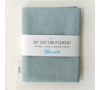 (3005) 20 ' Cotton Pigment Natural Color &washing Fabric:#12 светло-голубой