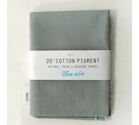 (3007) 20 ' Cotton Pigment Natural Color &washing Fabric:#15 светло-синий