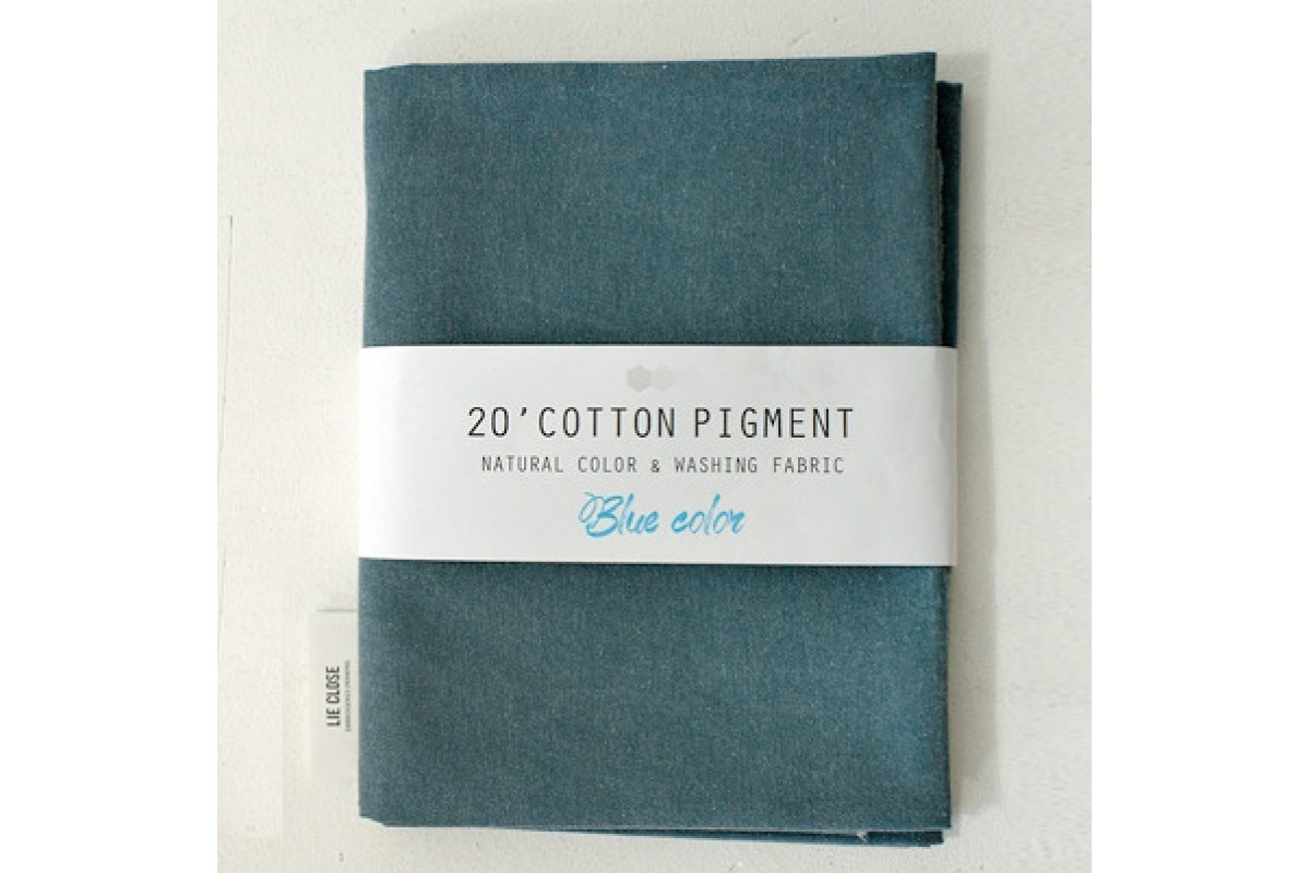 (3008) 20 ' Cotton Pigment Natural Color &washing Fabric:#16 синевато-стальной
