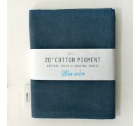 (3009) 20 ' Cotton Pigment Natural Color &washing Fabric:#17 синевато-темносерый