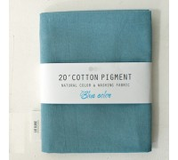 (3010) 20 ' Cotton Pigment Natural Color &washing Fabric:#18 голубой