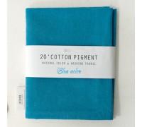 (3011) 20 ' Cotton Pigment Natural Color &washing Fabric:#19 темно-голубой