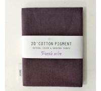 (3013) 20 ' Cotton Pigment Natural Color &washing Fabric:#21 фиолетовый