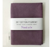 (3014) 20 ' Cotton Pigment Natural Color &washing Fabric:#21 светло-фиолетовый