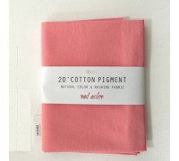 (3015) 20 ' Cotton Pigment Natural Color &washing Fabric:#24 ярко-розовый