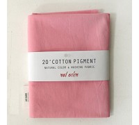 (3016) 20 ' Cotton Pigment Natural Color &washing Fabric:#25 розовый