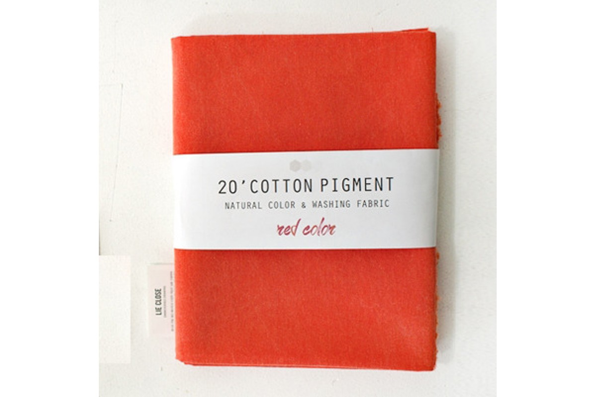 (3019) 20 ' Cotton Pigment Natural Color &washing Fabric:#28 томатно-оранжевый