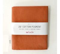 (3020) 20 ' Cotton Pigment Natural Color &washing Fabric:#29 коричневый