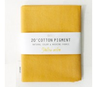 (3021) 20 ' Cotton Pigment Natural Color &washing Fabric:#30 темно-желтый