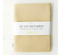 (3023) 20 ' Cotton Pigment Natural Color &washing Fabric:#32 желтый песок