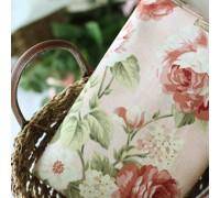(38) Крупные розы на розовом (N1089)