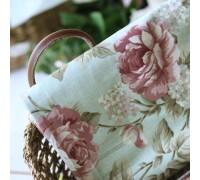 (40) Крупные розы на зеленом (N1089)
