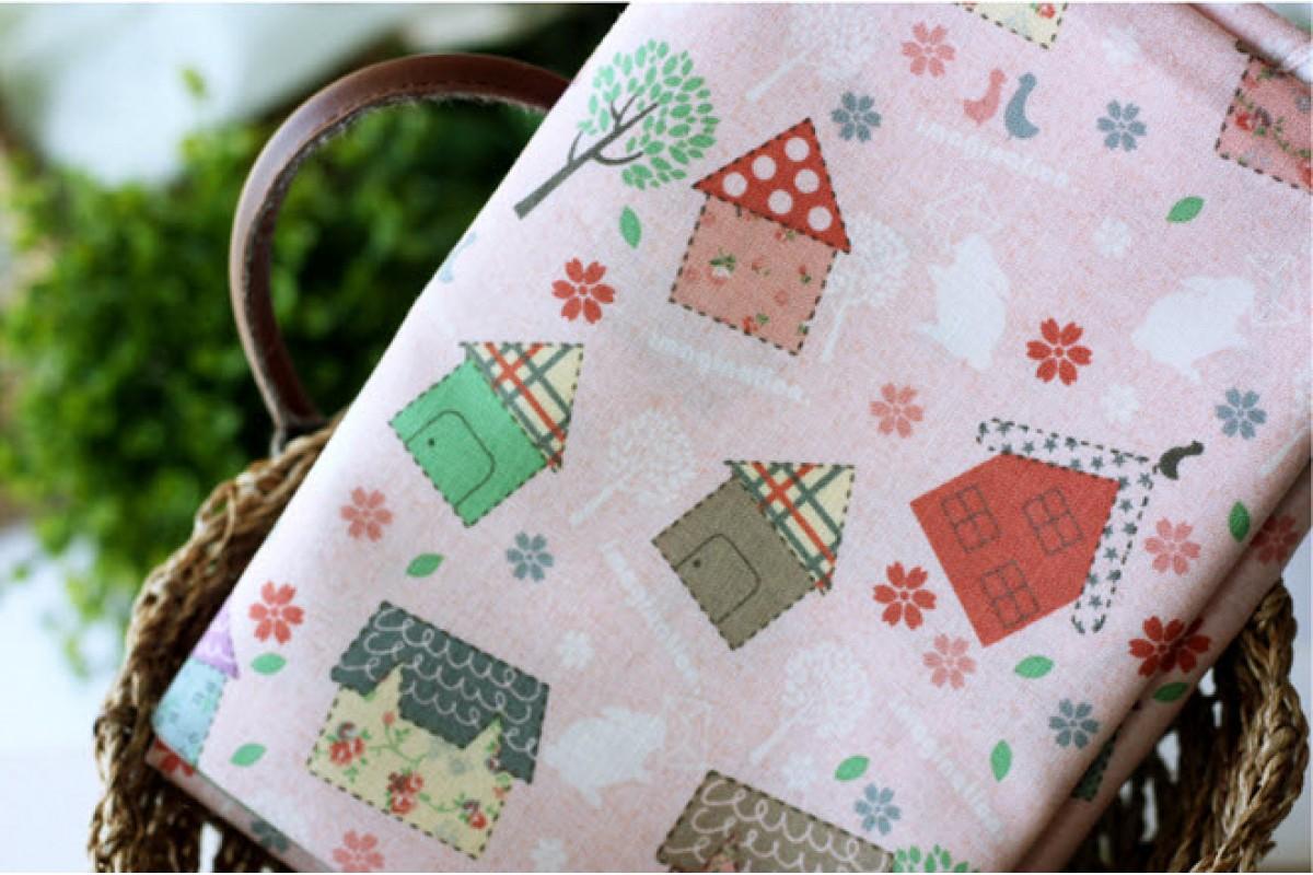 (46) Домики на розовом