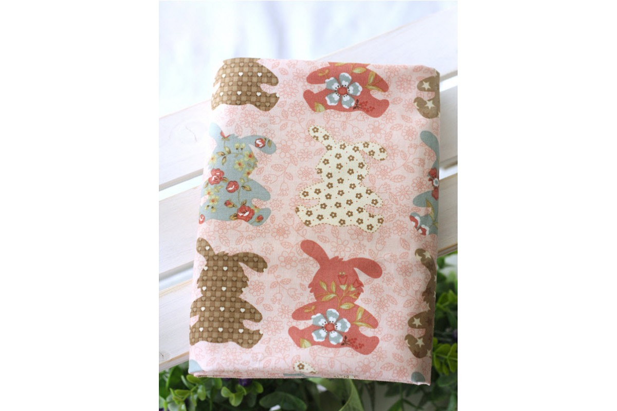 (306) Кролик на розовом (N1186)