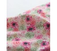 (3341) DTP цветочная вечеринка (розовый) P0000EYN