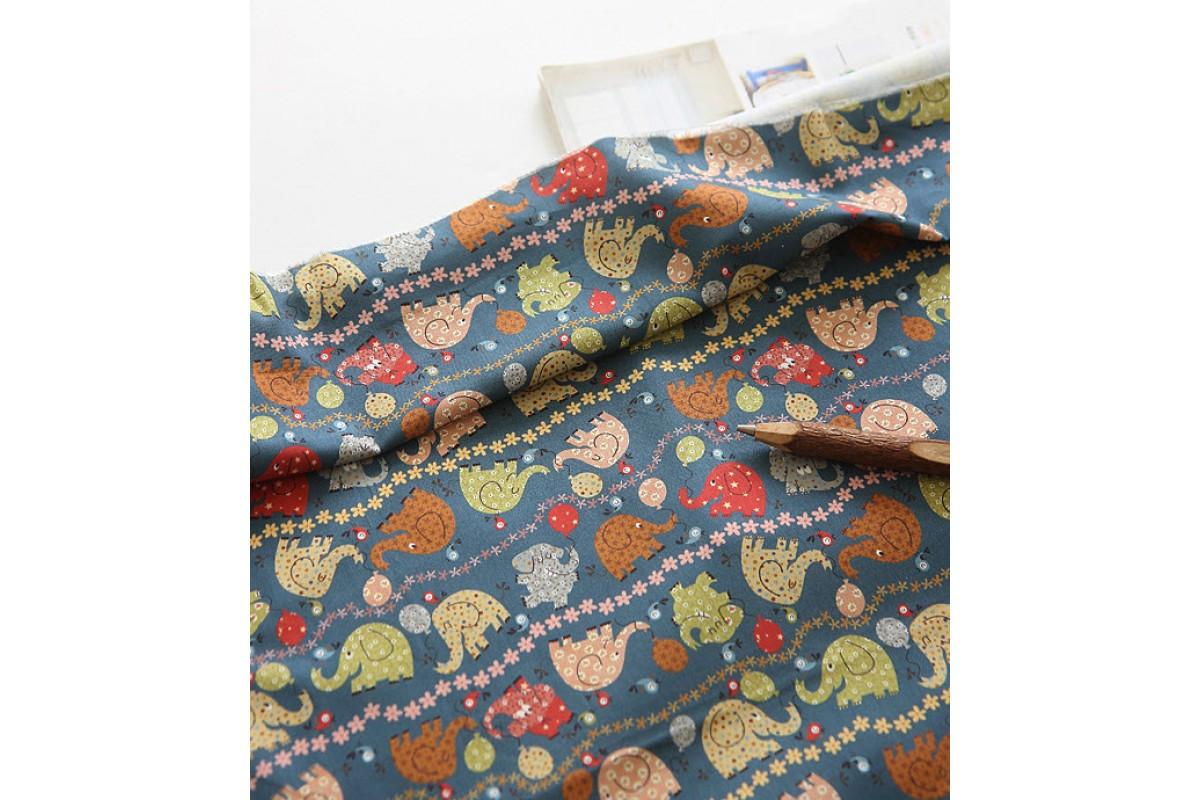 (3345) DTP Цветные слоники