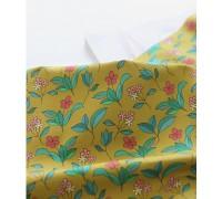 (3351) DTP Полевые цветы (горчичный)