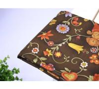 (698) Плющ садовый (коричневый)