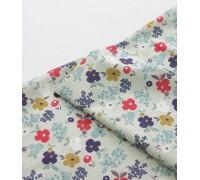 (3383) DTP Цветы (бежевый)