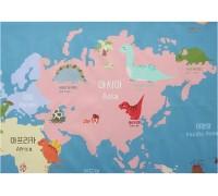 (3385) DTP Карта динозавров