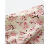 (3402) DTP лен Вишня в цвету