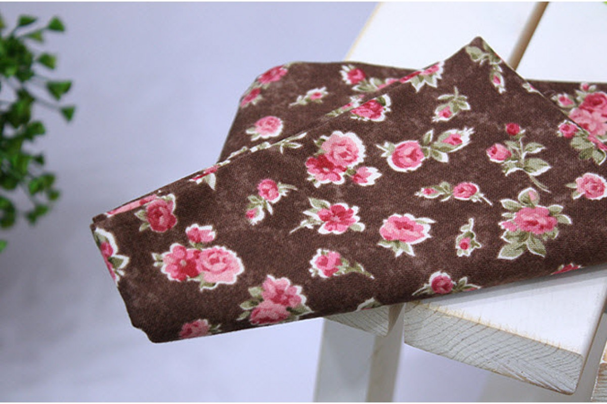 (711) Цветок Сирия коричневый (N1218)