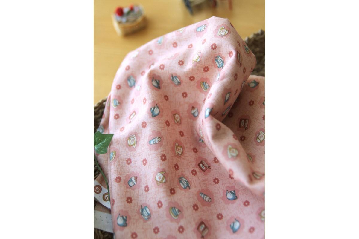 (860) Чаепитие-розовый (N1258)