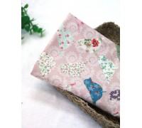 (985) Птицы на розовом (N1263)